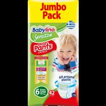 Πάνες Βρακάκι Babylino Pants No6 Jumbo Pack 42τμχ (15+Kg)