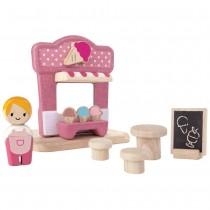 Plan Toys Παγωτατζίδικο Ξύλινο 6614