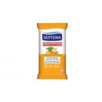 Septona Αντιβακτηριδιακά Μαντηλάκια Χεριών Ανθός Πορτοκαλιού 15τμχ