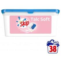 Skip Απορρυπαντικό Πλυντηρίου Κάψουλες Talc Soft 38τμχ