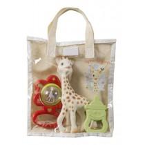 Sophie la Girafe Σετ με Μασητικά και Κουδουνίστρα