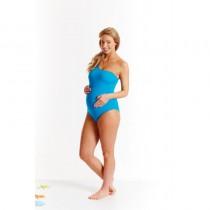 Splash About Ασύμμετρο Ολόσωμο Μαγιό Εγκυμοσύνης Μπλε