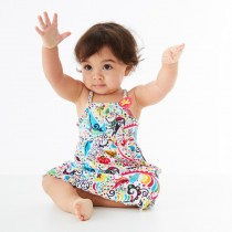 Splash About Φόρεμα με Δείκτη Προστασίας SPF 50+ L'Histoire de Birdy 6-12 μηνών