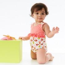 Splash About Μαγιό Ολόσωμο Ruffle Kayla La 6-12 μηνών