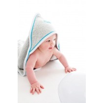 Splash About Πετσέτα με Κουκούλα UPF50+ Τιρκουάζ 0-3 μηνών