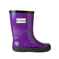 Stonz Γαλότσα Rain Bootz Μωβ Purple 23