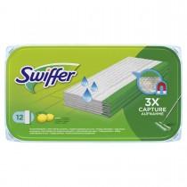 Swiffer Υγρά Πανάκια με Άρωμα Λεμόνι για Πάτωμα (12 τμχ)