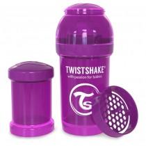 Twistshake Μπιμπερό Κατά των Κολικών 180ml Μωβ