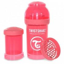 Twistshake Μπιμπερό Κατά των Κολικών 180ml Ροδακινή