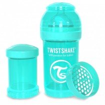 Twistshake Μπιμπερό Κατά των Κολικών 180ml Τιρκουάζ