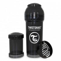 Twistshake Μπιμπερό Κατά των Κολικών 260ml Μαύρο