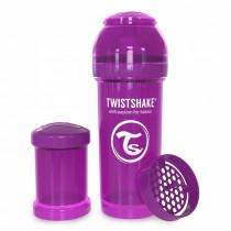 Twistshake Μπιμπερό Κατά των Κολικών 260ml Μωβ