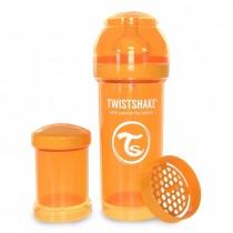 Twistshake Μπιμπερό Κατά των Κολικών 260ml Πορτοκαλί