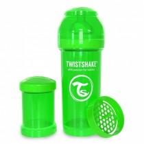Twistshake Μπιμπερό Κατά των Κολικών 260ml Πράσινο