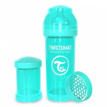 Twistshake Μπιμπερό Κατά των Κολικών 260ml Τιρκουάζ