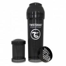 Twistshake Μπιμπερό Κατά των Κολικών 330ml Μαύρο