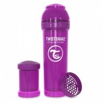 Twistshake Μπιμπερό Κατά των Κολικών 330ml Μωβ