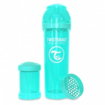 Twistshake Μπιμπερό Κατά των Κολικών 330ml Τιρκουάζ