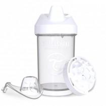 Twistshake Κύπελλο Μίξερ Φρούτων Crawler Cup 300ml 8+ μηνών Άσπρο