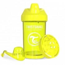 Twistshake Κύπελλο Μίξερ Φρούτων Crawler Cup 300ml 8+ μηνών Κίτρινο