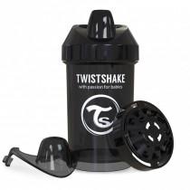 Twistshake Κύπελλο Μίξερ Φρούτων Crawler Cup 300ml 8+ μηνών Μαύρο