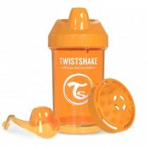 Twistshake Κύπελλο Μίξερ Φρούτων Crawler Cup 300ml 8+ μηνών Πορτοκαλί