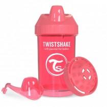Twistshake Κύπελλο Μίξερ Φρούτων Crawler Cup 300ml 8+ μηνών Ροδακινή