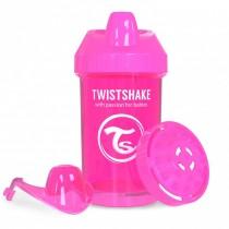 Twistshake Κύπελλο Μίξερ Φρούτων Crawler Cup 300ml 8+ μηνών Ροζ