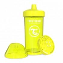 Twistshake Κύπελλο Μίξερ Φρούτων Kid Cup 360ml 12+μηνών Κίτρινο
