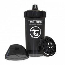 Twistshake Κύπελλο Μίξερ Φρούτων Kid Cup 360ml 12+μηνών Μαύρο