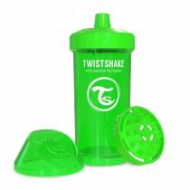 Twistshake Κύπελλο Μίξερ Φρούτων Kid Cup 360ml 12+μηνών Πράσινο