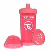 Twistshake Κύπελλο Μίξερ Φρούτων Kid Cup 360ml 12+μηνών Ροδακινή