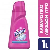 Vanish Ενισχυτικό Πλύσης σε Gel Oxi Action Pink 1lt