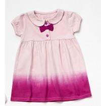 Wonderkids Φορεματάκι Ροζ με Φιόγκο 3-6 μηνών