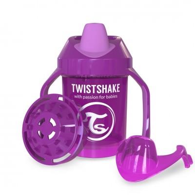 Twistshake Κύπελλο Μίξερ Φρούτων Mini Cup 230ml 4+μηνών Μωβ