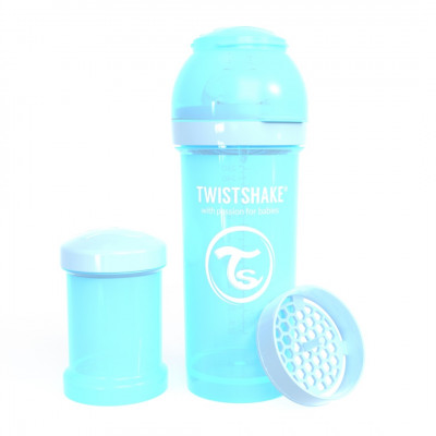 Twistshake Μπιμπερό Κατά των Κολικών 260ml Pastel Blue