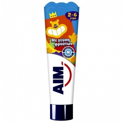 ΑΙΜ Οδοντόκρεμα Kids 2-6 Ετών 50ml