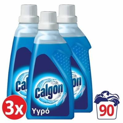 Calgon Αποσκληρυντικό Νερού Πλυντηρίου Ρούχων Gel 3x1,5lt