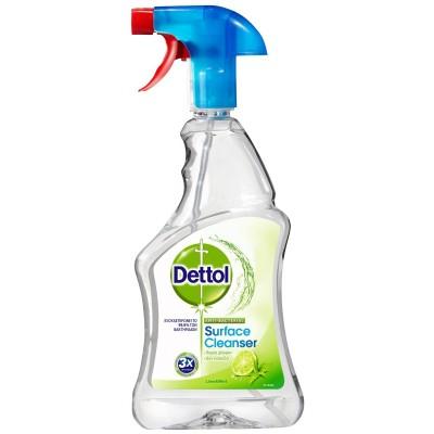 Dettol Απολυμαντικό Spray Καθαρισμού Υγιεινή & Ασφάλεια Lime & Mint 500ml