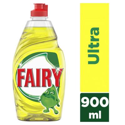Fairy Υγρό Πιάτων Λεμόνι με Lift Action 900ml