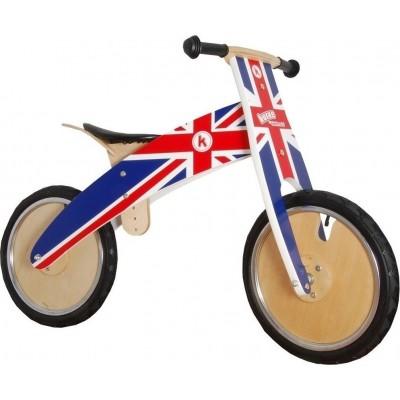 Kiddimoto Ποδήλατο Ισορροπίας Kurve Union Jack