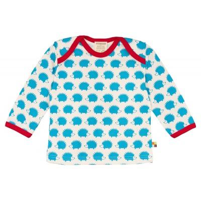 Loud+Proud Μακρυμάνικη Μπλούζα από Οργανικό Βαμβάκι με Σκαντζόχοιρο 6-12 μηνών