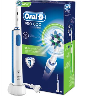 Oral B Ηλεκτρική Επαναφορτιζόμενη Οδοντόβουρτσα PRO 600