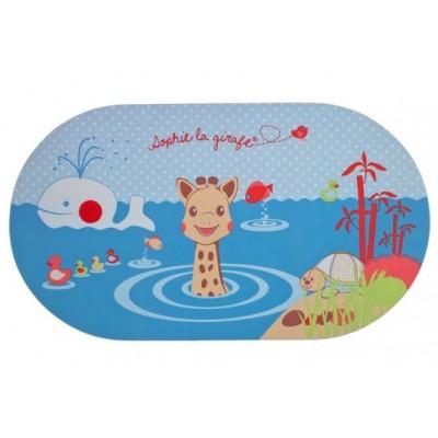Sophie la Girafe Αντιολισθητικό Πατάκι Μπάνιου Με Ένδειξη Θερμότητας 70x39 εκατοστά