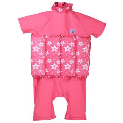 Splash About Μαγιό με Σωσίβιο Ολόσωμο UPF 50+ Pink Blossom 12-24 μηνών