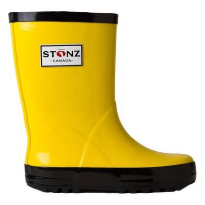 Stonz Γαλότσα Rain Bootz Κίτρινη Yellow
