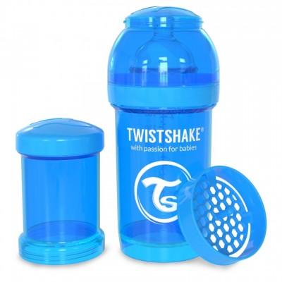 Twistshake Μπιμπερό Κατά των Κολικών 180ml Μπλέ