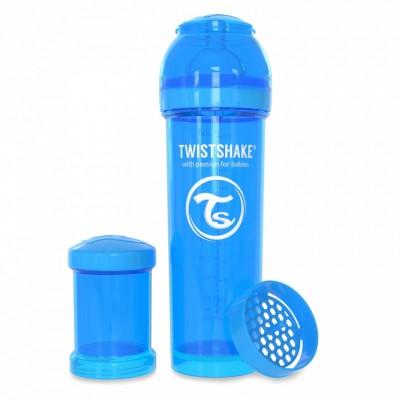 Twistshake Μπιμπερό Κατά των Κολικών 330ml Μπλέ