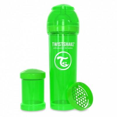 Twistshake Μπιμπερό Κατά των Κολικών 330ml Πράσινο