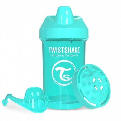 Twistshake Κύπελλο Μίξερ Φρούτων Crawler Cup 300ml 8+ μηνών Τιρκουάζ